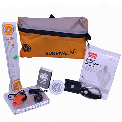 Ultimate Survival Technologies FeatherLite Survival Kit Orange 3.0