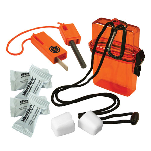 Ultimate Survival Technologies Firestarter Kit 1.0, Orange