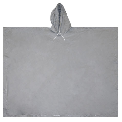 Ultimate Survival Technologies All-Weather Poncho Adult Gray
