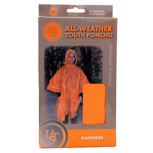 Ultimate Survival Technologies All-Weather Poncho Youth