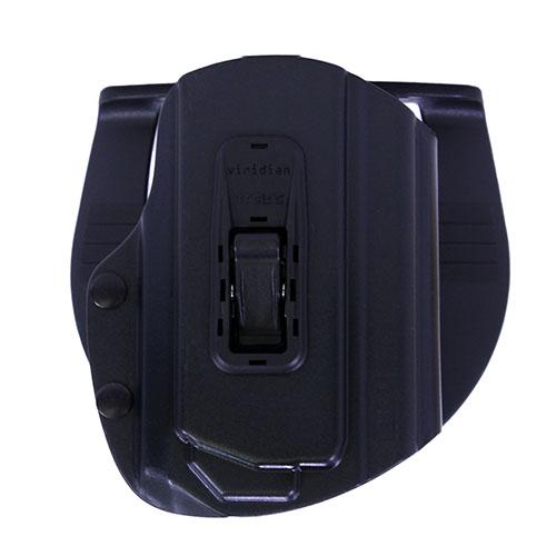 Viridian Tacloc X Series HK P30 Paddle Holster Right Hand Kydex Black Finish