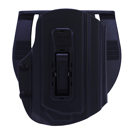 Viridian TacLoc Laser Ready Holster for Taurus Railed 1911 with X5L Laser Kydex Black Right Hand