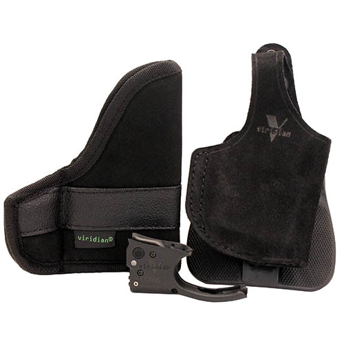 Viridian Green Lasers Reactor 5 Green Laser w|Galco Paddle ECR Holster for Ruger LCP