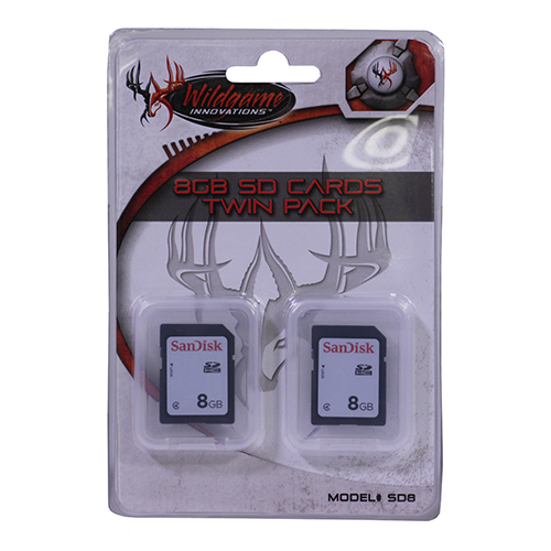 Wildgame Innovations 8GB SD Cards, 2 Pack