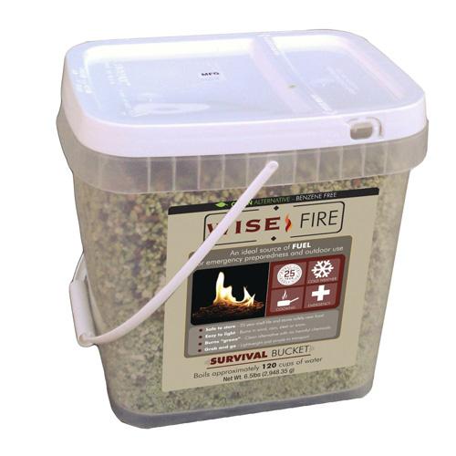 WiseFire Emergency Fire Starter Bucket