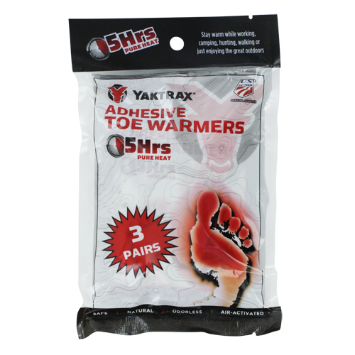 Yaktrax 07314 Toe Warmer 3 Pack