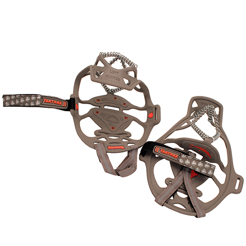 Yaktrax Run Gray|Red, Large