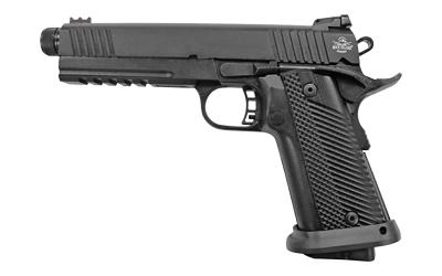 Rock Island 56862 Tac Ultra 10mm Auto Single 5.50in. 16+1 Black G10 Grip Black Parkerized Slide
