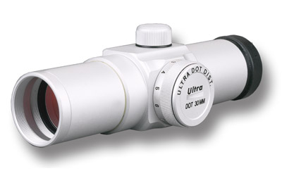 Ultradot 30mm Red Dot Gun Sight, Silver, 30mm UD30S