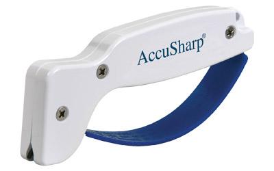 Accusharp 001 White Sharpener Diamond Tungsten Carbide Plastic Handle