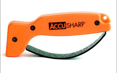 Accusharp 014C Blaze Orange Knife Sharpener Tungsten Carbide
