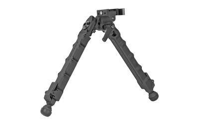 Accu-Tac LR-10 G2, Quick Detach, Large Rifle Bipod, Black Finish LRB-G200