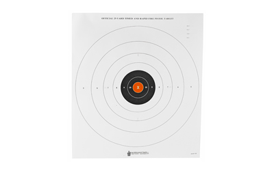 ACTION TARGET INC B-8(P)OC-100 B-8 25-Yard Time and Rapid Fire Paper 21