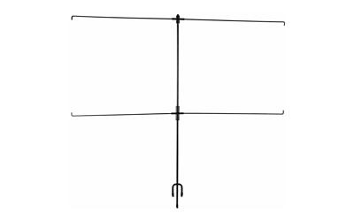 Allen EZ-Aim Paper Target Stand Holder, Black 1529