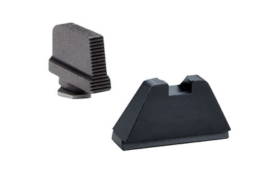 AmeriGlo GL429 Tall Suppressor Height Sight Glock (Except 42) Steel Black