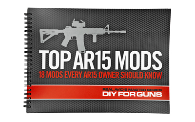Real Avid Top AR15 Mods Instructional Book, 18 Step By Step How to Do It Instructions AVTOPMODS