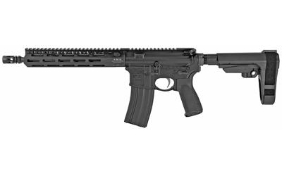 BCM 610850ELWSBA REECE-11 MCMR 223 Rem5.56 NATO 11.50in. 30+1 Black Hard Coat Anodized SBA3 Pistol Brace