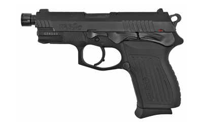 Bersa TPR9CMX TPRC Compact 9mm Luger Double 4.10in. Threaded 13+1 Black Textured Polymer Grip Black Steel Slide