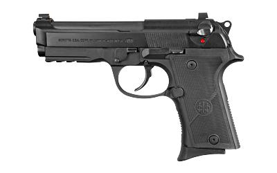 Beretta USA J92CR921 92X FR Compact w/ Rail 9mm Luger 4.25in. 13+1 Black Bruniton Black Steel Black Wraparound Polymer Grip