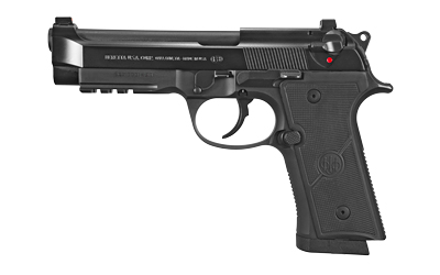 Beretta USA 92X Full Size 9mm Luger 4.70in. 17+1 Black Checkered Polymer Grips Decocker Only