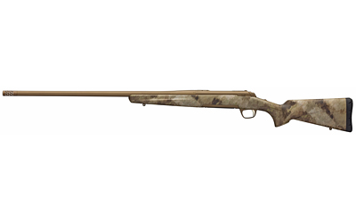 Browning 035499282 X-Bolt Hells Canyon Long Range 6.5 Creedmoor 4+1 26in. Burnt Bronze Cerakote A-TACS AU Camo Right Hand