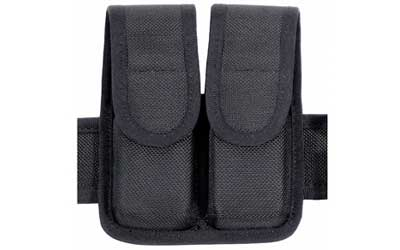 Blackhawk 44A001BK Cordura Double Mag Pouch 9mm|40 Cal Black