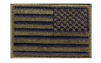 BLACKHAWK Reversed American Flag Patch, 2
