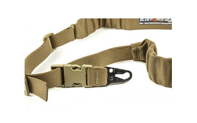 Blue Force Gear UDC200BGPBCB UDC Single Point Padded Bungee Adjustable x 2  Push Button Cordura Coyote Tan in.