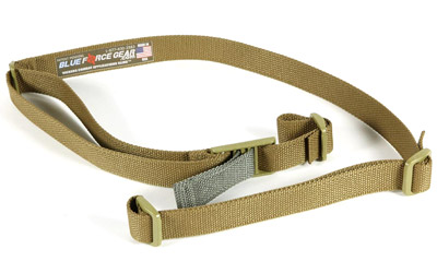 Blue Force Gear VCAS125OACB Vickers 57-67 in.  x 1.25 in.  None Included Swivel Nylong Hardware Cordura Coyote Tan in.