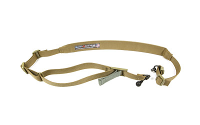 Blue Force Gear VCAS2TO1RED Vickers 221 Adjustable x 2 Included RED Swivel Cordura Coyote Tan Padded in.