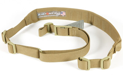 Blue Force Gear VCAS200OACB Vickers Adjustable x 2 None Included Swivel Nylong Hardware Cordura Coyote Tan Padded in.