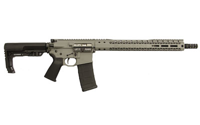 Black Rain BROSCOUTSG Recon BRO Scout Semi-Automatic 223 Remington|5.56 NATO 16 30+1 6-Position MFT BMS Minimalist Black Stk Gray Cerakote in.