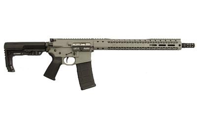 Black Rain BROSCOUTSG Recon BRO Scout Semi-Automatic 223 Remington|5.56 NATO 16 30+1 6-Position MFT BMS Minimalist Black Stk Gray Cerakote in.