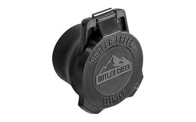 Butler Creek Element Scope Cover, 56mm, Black, Obj