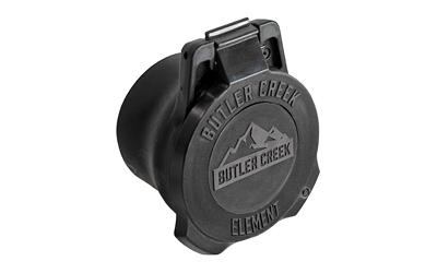 Butler Creek Element Scope Cover, 60mm-65mm, Black