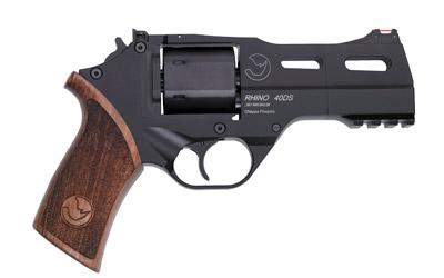 Chiappa Firearms 340219 Rhino 40DS 357 Mag 4in. 6 Round Black Walnut Grip