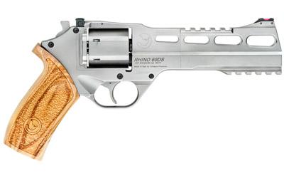 Chiappa Firearms CF340249 Rhino 60SAR *CA Compliant 357 Mag 6in. 6 Round Nickel Plated Walnut Grip