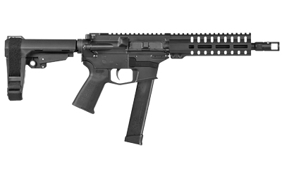 CMMG 10A4296 Banshee 200 MK10 10mm Auto 8in. 30+1 Black Cerakote Magpul MOE CMMG 6 Position RipStock