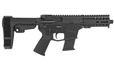 CMMG 57A1843GB Banshee 300 MK57 5.7x28mm 5in. 20+1 Black Cerakote Black Magpul MOE CMMG 6 Position RipBrace