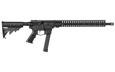 CMMG 99AE6AE Resolute 100 MKGS 9mm Luger 16.10in. 33+1 Black Hard Coat Anodized 6 Position M4 Stock