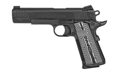 """Colt Mfg O1082CCU Government Combat Unit 9mm Luger 5"""" 9+1 Black PVD Black PVD Stainless Steel Black G10 Checkered w/Scallop Grip"""