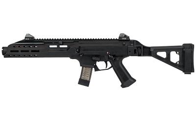 CZ 01354 Scorpion EVO 3 S1 9mm Luger 7.72in. 10+1 Black SB Tactical Folding Brace Flash Can