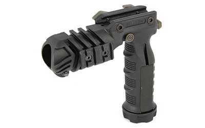 Command Arms FGA Vertical Grip w|Flashlight Adaptor Matte Black Polymer