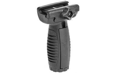 CAA MVG Short Vertical Grip w|Pressure Switch Mounts Poly|Rubber Blk