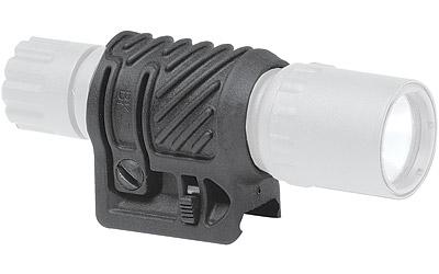 Command Arms PL2 Picatinny Flashlight|Laser Adaptor QR 1 Diam Polymer Black in.
