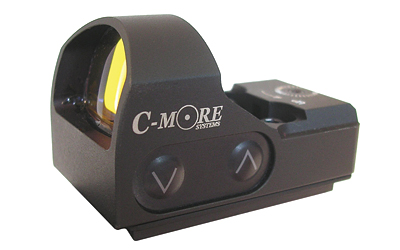 C-More Systems Red Dot, 3MOA, Small Tactical Sight, Black Finish, w/out Mount STS2B-3