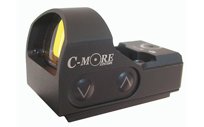 C-More Systems Red Dot, 6MOA, Small Tactical Sight 2, Black Finish, w/out Mount STS2B-6