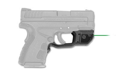 Crimson Trace LG496G Laserguard  Green Laser Springfield XD Mod.2 Trigger Guard Black