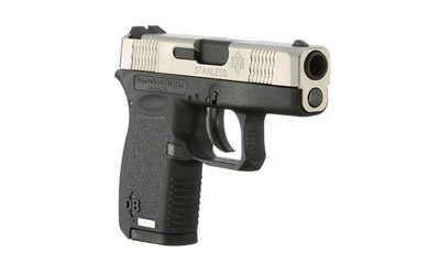 Diamondback DB380SS DB380 Micro-Compact Double 380 Automatic Colt Pistol (ACP) 2.8 6+1 Black Polymer Grip Frame Grip Stainless Steel in.