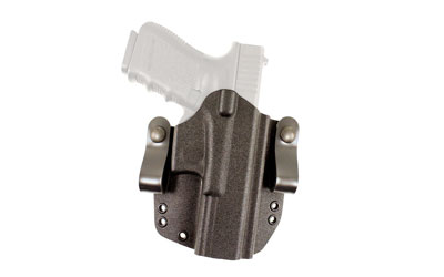 DeSantis SL Raptor OWB/IWB Kydex Holster for Glock 19/Glock 19X/ Glock45,  Black, Right Hand 147KAB6Z0